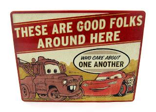 Hallmark disney cars sign