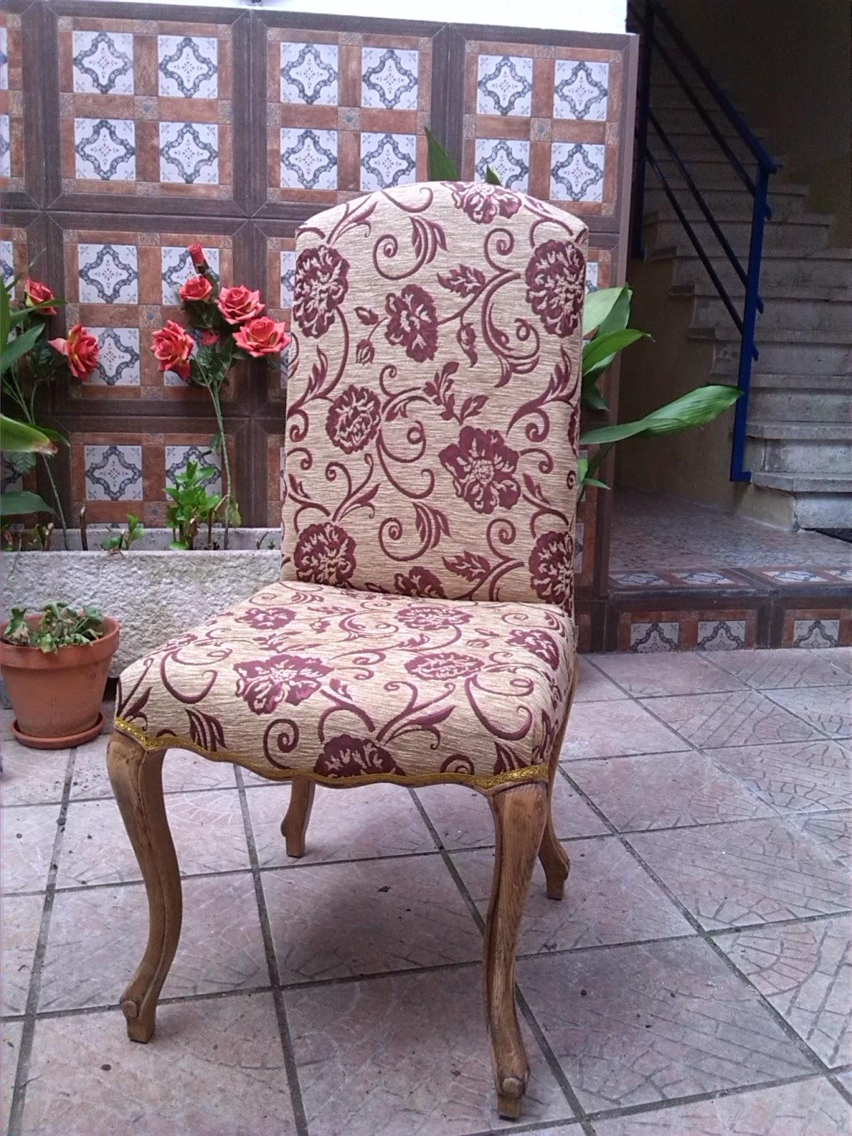 Entre telas y tapices - Como tapizar sillas antiguas ...