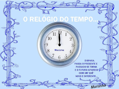 O RELÓGIO DO TEMPO DISPARA...