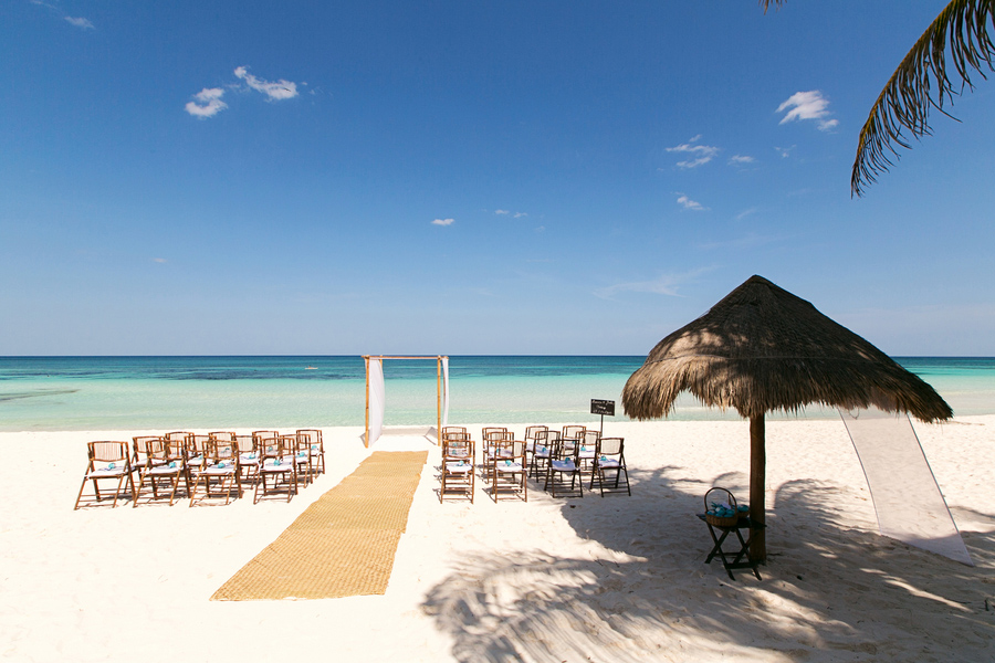 Mexico destination wedding, Tulum weddings