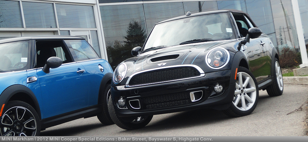 We Took Liberty To Do A Photoshoot Of All 3 Special Editions Mini Cooper Baker Street S Bayswater And Highgate Convertible