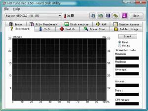 硬碟監控檢測工具,HD Tune 繁體中文綠色免安裝版!