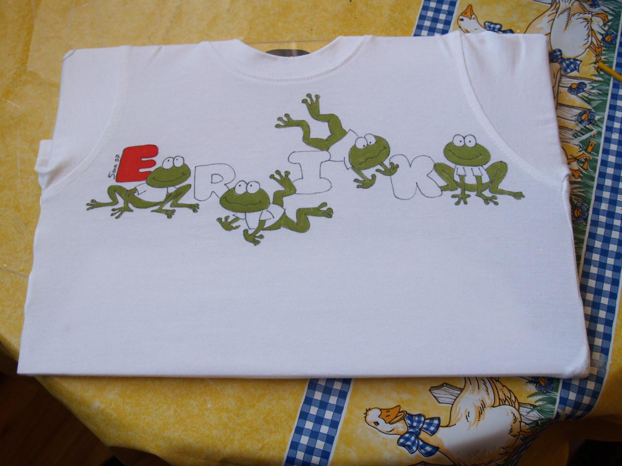 La calle de la abuela las camisetas son para el verano - Dibujos infantiles para pintar en tela ...