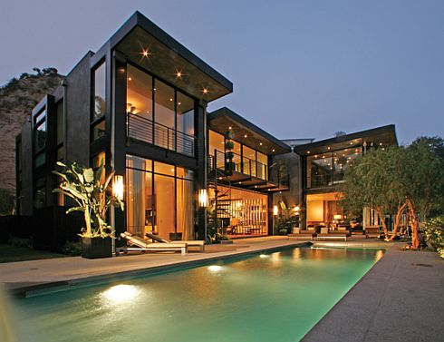 Brocade design etc awesome home design with marvelous pool for Best modern architecture homes