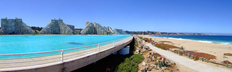 World s largest swimming pool guinness world records - San alfonso del mar swimming pool ...