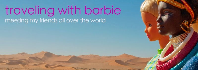 traveling with barbie