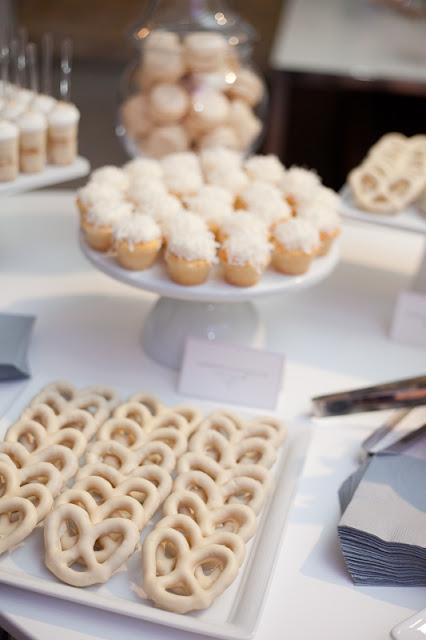 Cocoa Amp Fig Dessert Table For Fete De Blanc At L Atelier