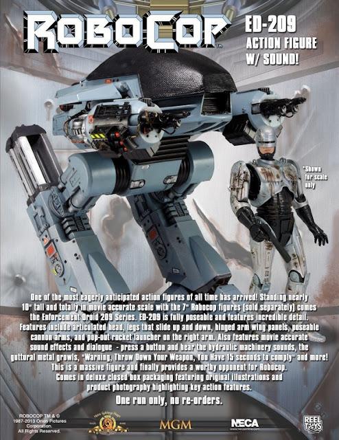 Action Figure ED-209 Robocop