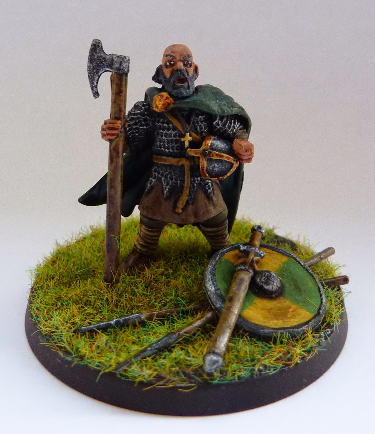 Anglo-Dane warlord from SAGA