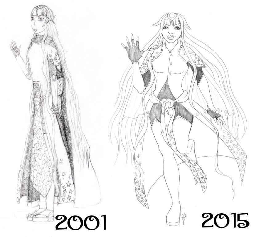 Ancien VS nouveaux dessins - Page 5 Evolution_femmeetoile