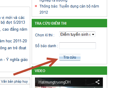 Tra cuu diem thi truong dai hoc canh sat 2013