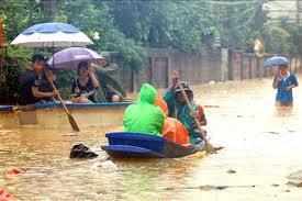 lluvias monzónicas están causando más inundaciones en el este de Asia, 01 DE AGOSTO 2013