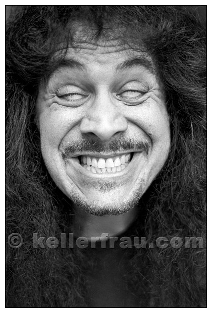 Gene Simmons (Kiss), Hamburg, 1994, photo by Moni Kellermann