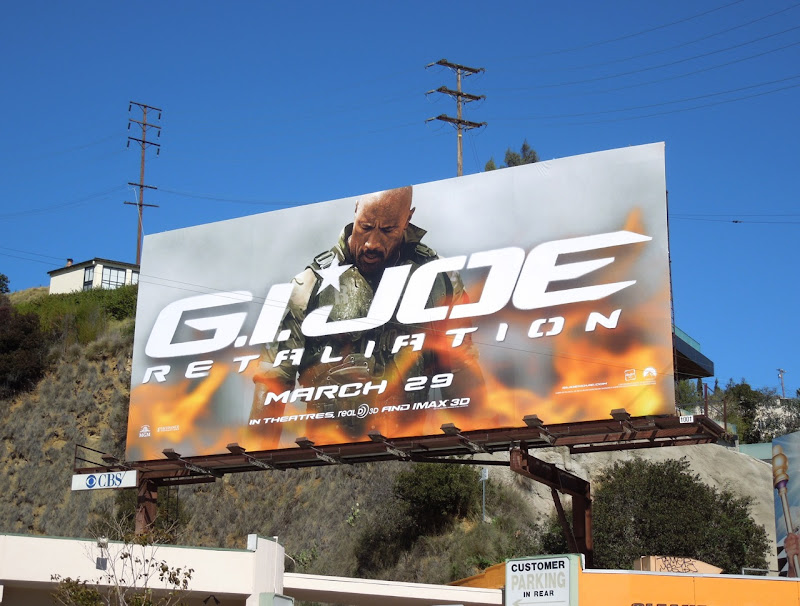 GI Joe Retaliation Roadblock billboard