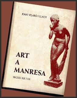 ART A MANRESA-JOAN VILARO-LLIBRES-PINTURA-