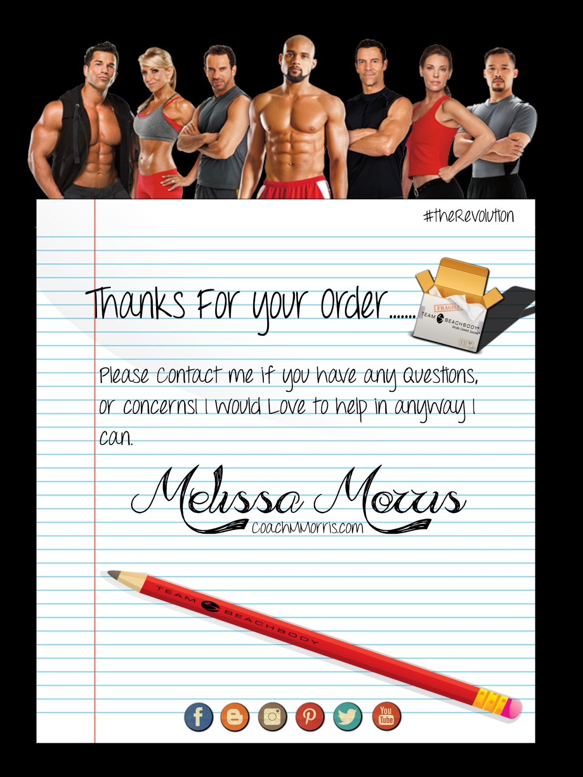 Custom Team Beachbody E cards & Tutorial To Insanity & Back