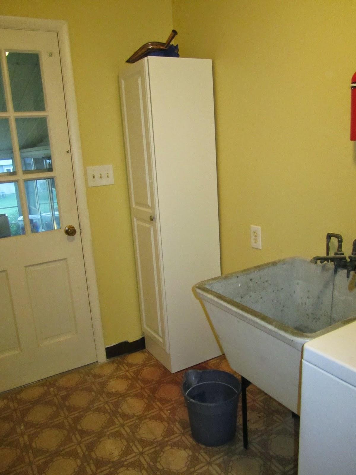 Organizing for Six: Organized Laundry Room