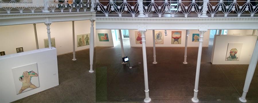 Exposición de Maria Lassnig en la Fundación Tàpies. Barcelona. Mayo 2015