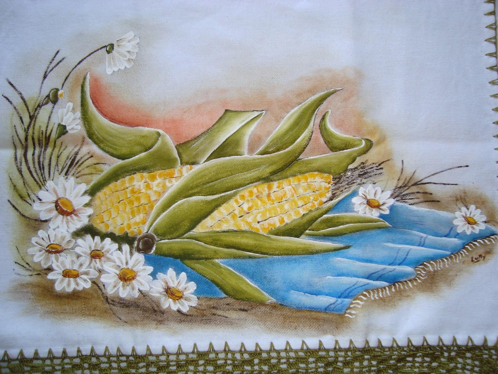 LullyArt's: Pintura em tecido