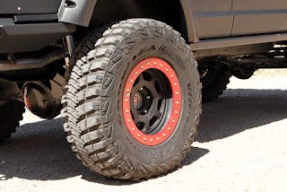 OR-Fab Jeep XJ Goodyear MT/R Kevlar tires and Trail Ready wheels