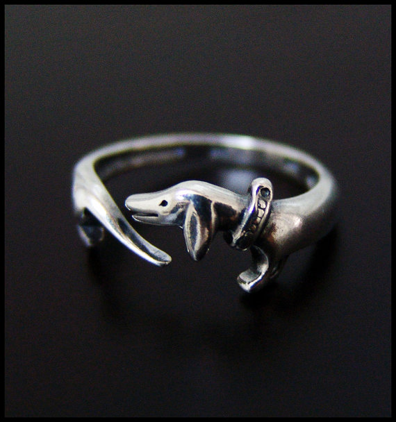 Dachshund Ring Jewelry