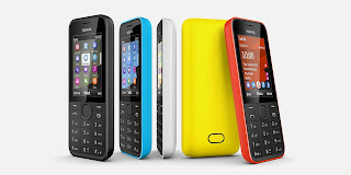 Nokia 207 Ponsel 3.5G Tanpa Kamera