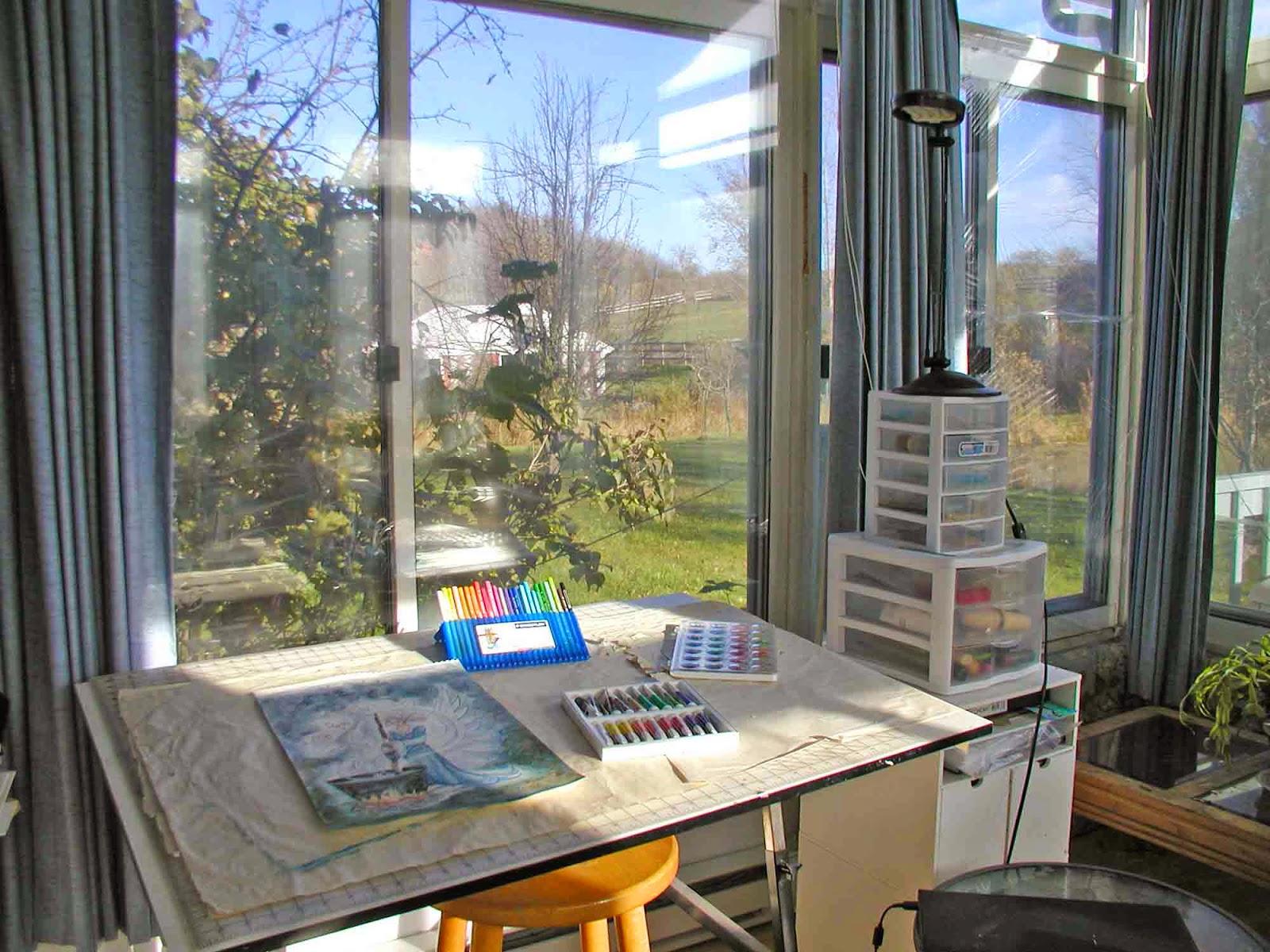 Joyce Jackson's studio