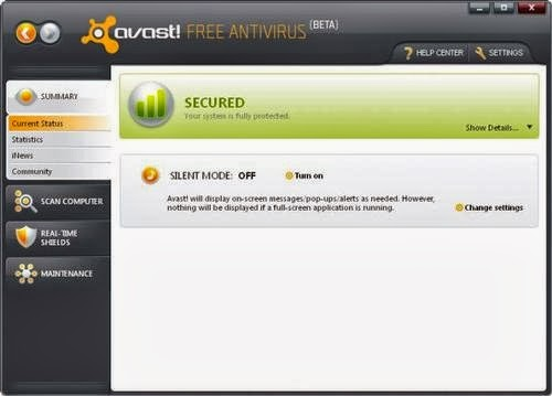 avast windows 7