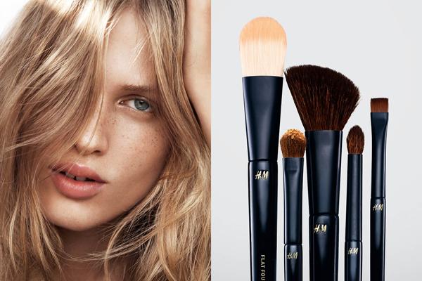 pinceles para sombras de ojos maquillaje primavera verano H&M
