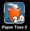 لعبه Paper Toss للايفون رائعه 2012