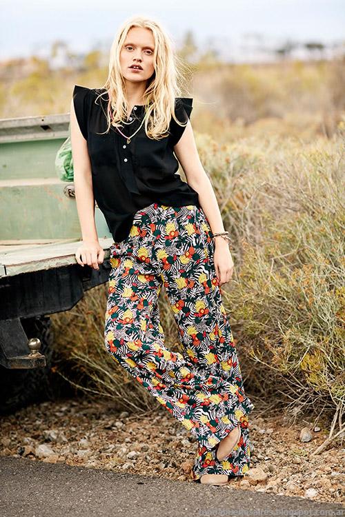 Pantalones. de verano moda 2015 India Style ropa de moda 2015.