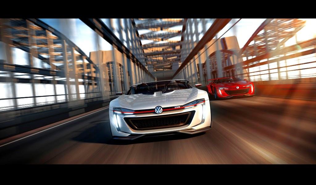 2014 VW Volkswagen GTI Roadster Concept - Front Wallpaper