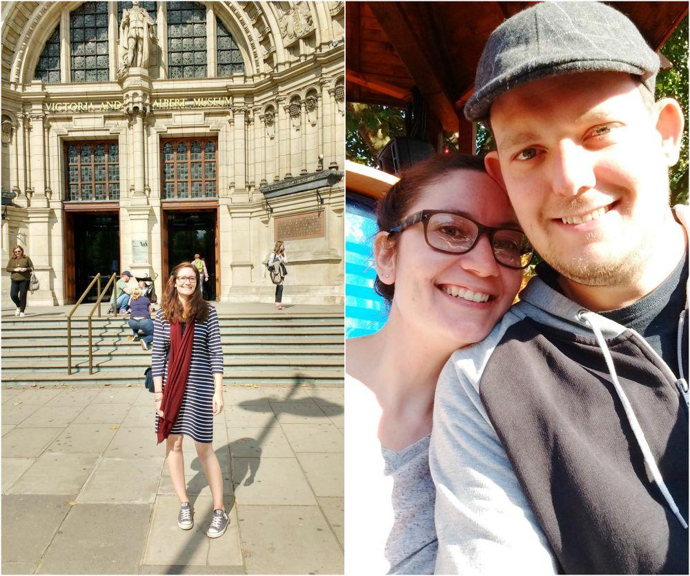V&A couple london
