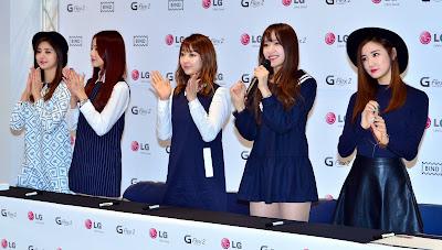 LG EXID Fansign