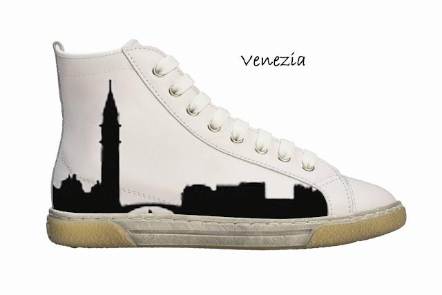 Personal Shoes impronte di viaggio