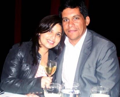 Grace Gálvez y Miguel Angel Villanueva