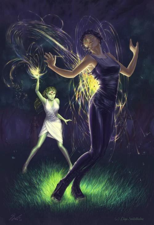 Liiga Smilshkalne deviantart ilustrações fantasia mulheres