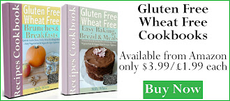 Gluten Free Wheat Free Easy Baking, Bread & Meals Recipes Cookbook