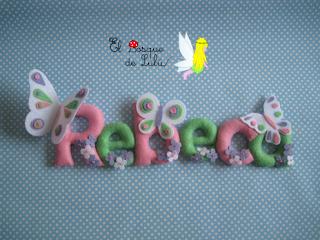 nombre-decorativo-fieltro-regalo-infantil-personalizado-elbosquedelulu-hechoamanoparati-Rebeca-mariposas