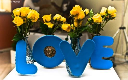 decoracao azul e amarelo noivado:Ficando noiva: Decoração: Azul e Amarelo