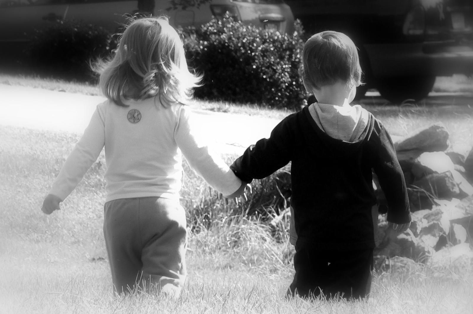 The friends I ve met are Best Friends Holding Hands Girls