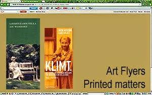 Art flyers + Printed matters