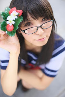 Rinami Cosplay as Toujou Aya from Ichigo 100%