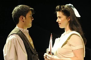 John Hauser (Young Stipan) and Adrian Egolf (Young Alma)