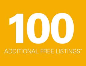 100 free ebay listings