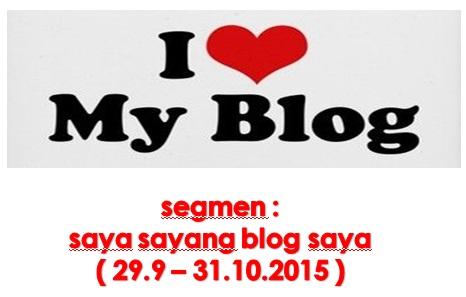 segmen : saya sayang blog saya