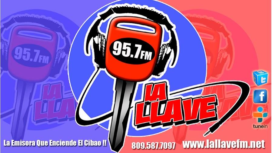 LA LLAVE 95.7 FM, La Emisora Que Enciende El Cibao!!!