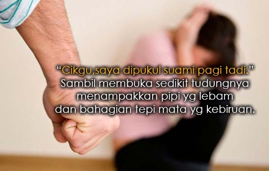 Luahan Seorang Isteri Diseksa Suami Dayus