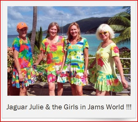 jaguarjulie and the girls in jams world dresses