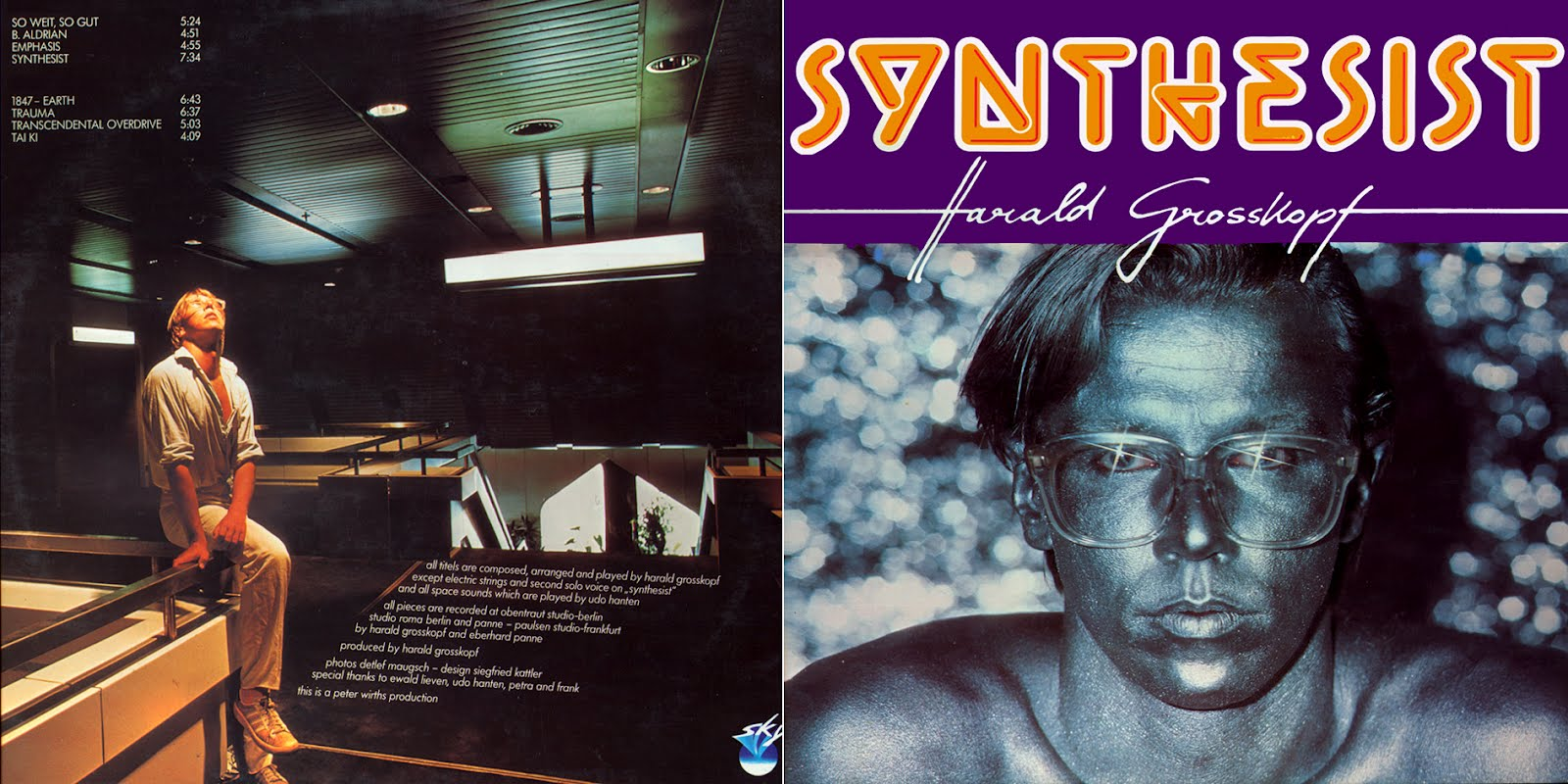 harald grosskopf - synthesist - remastered lp - 2011-bcc